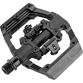 HT DH Race X2 Pedals stealth black